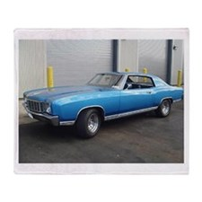72 Monte Carlo Throw Blanket