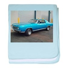 72 Monte Carlo baby blanket