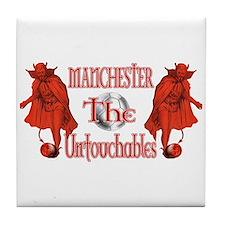 Manchester Untouchables Tile Coaster