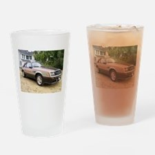 Mustang Pace Car Drinking Glass