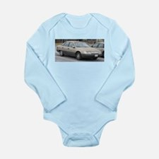 Sable Long Sleeve Infant Bodysuit