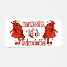 Manchester Untouchables Aluminum License Plate