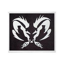 Ram Sign Throw Blanket