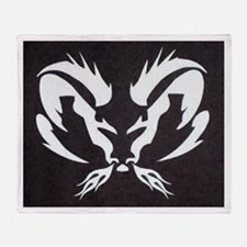 Ram Sign Throw Blanket