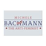 Bachmann Anti-Feminist Mini Poster Print