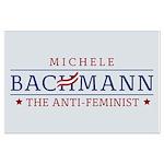 Bachmann Anti-Feminist Large Poster