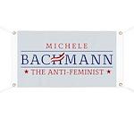 Bachmann Anti-Feminist Banner