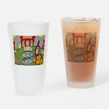Seder Table Drinking Glass