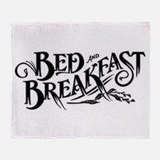 Bed & Breakfast Throw Blanket