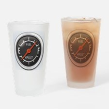Gas Gauge Drinking Glass