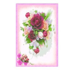 """""""Roses"""" Postcards (Package of 8)"""