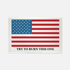 TRY TO BURN THIS ONE Rectangle Magnet (10 pack)