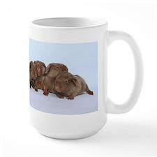 Beige Tan Guinea Pig Babies Mug