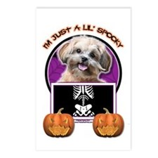 Just a Lil Spooky ShihPoo Postcards (Package of 8)
