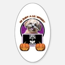 Just a Lil Spooky ShihPoo Decal