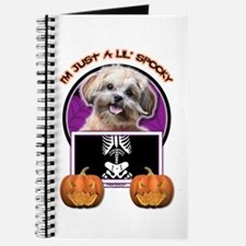 Just a Lil Spooky ShihPoo Journal