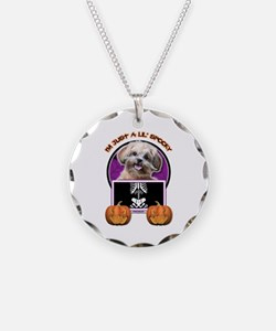 Just a Lil Spooky ShihPoo Necklace