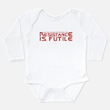 Resistance is Futile Long Sleeve Infant Bodysuit