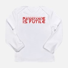 Resistance is Futile Long Sleeve Infant T-Shirt