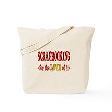 Scrapbooking Love Tote Bag