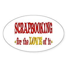 Scrapbooking Love Decal