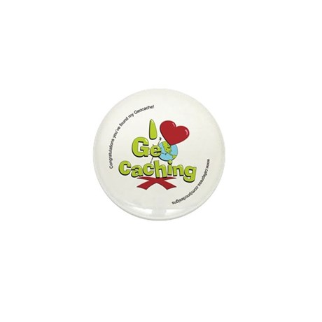 Geocaching Mini Button (10 pack)