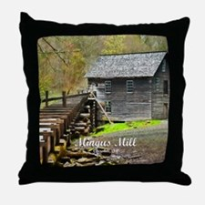 Smokies Mingus Mill Throw Pillow