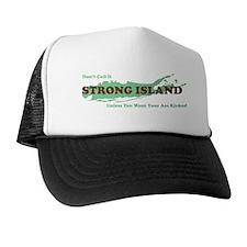 Strong Island - GREEN Trucker Hat