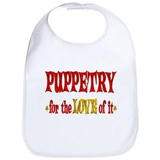 Puppetry Love Bib