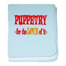 Puppetry Love baby blanket