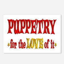 Puppetry Love Postcards (Package of 8)