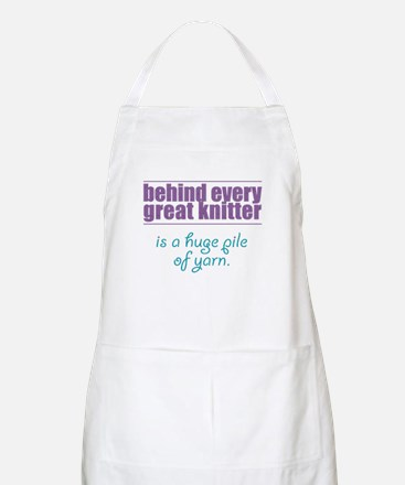 Behind Every Knitter... Apron
