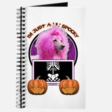 Just a Lil Spooky Poodle Journal