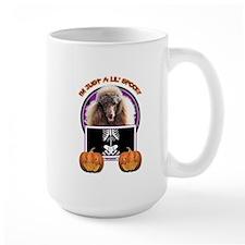 Just a Lil Spooky Poodle Mug