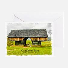 Cades Cove Barn Greeting Card