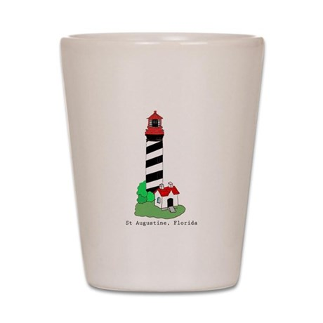 St Augustine Lighthouse Shot Glass
