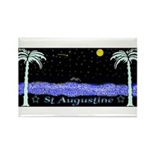 Unique St augustine Rectangle Magnet