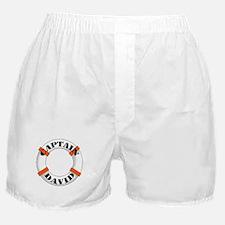 Cute Boating captain Boxer Shorts
