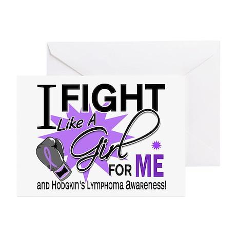 Fight Like A Girl For My Hodgkin's Lymphoma Greeti