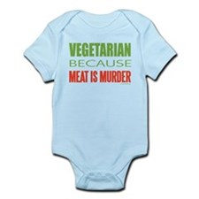 Vegetarian Infant Bodysuit