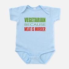 Vegetarian Infant Bodysuit