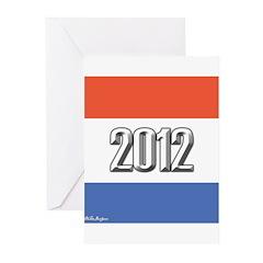 2012 Election RWB Greeting Cards (Pk of 20)