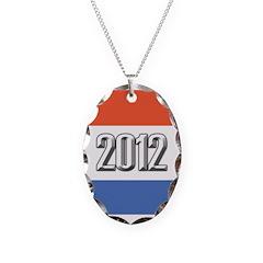 2012 Election RWB Necklace