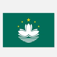 Macao Flag Postcards (Package of 8)