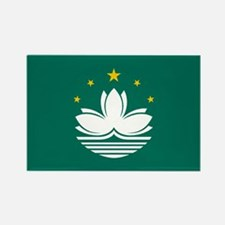 Macao Flag Rectangle Magnet
