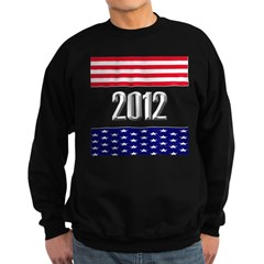 Presidential 2012 stars Sweatshirt (dark)