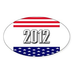 Presidential 2012 stars Decal