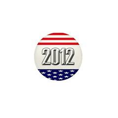 Presidential 2012 stars Mini Button (10 pack)
