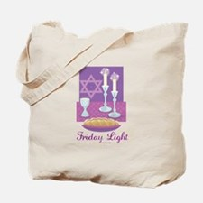 Friday Light Jewish Tote Bag