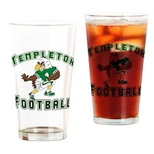 TEMPLETON FOOTBALL (eagle) Drinking Glass